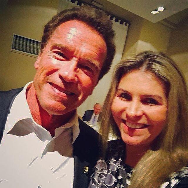 Arnold Schwarzenegger a retrouvé à Madrid Ana <b>Paula Leal</b>, organisatrice de ... - 1191036716