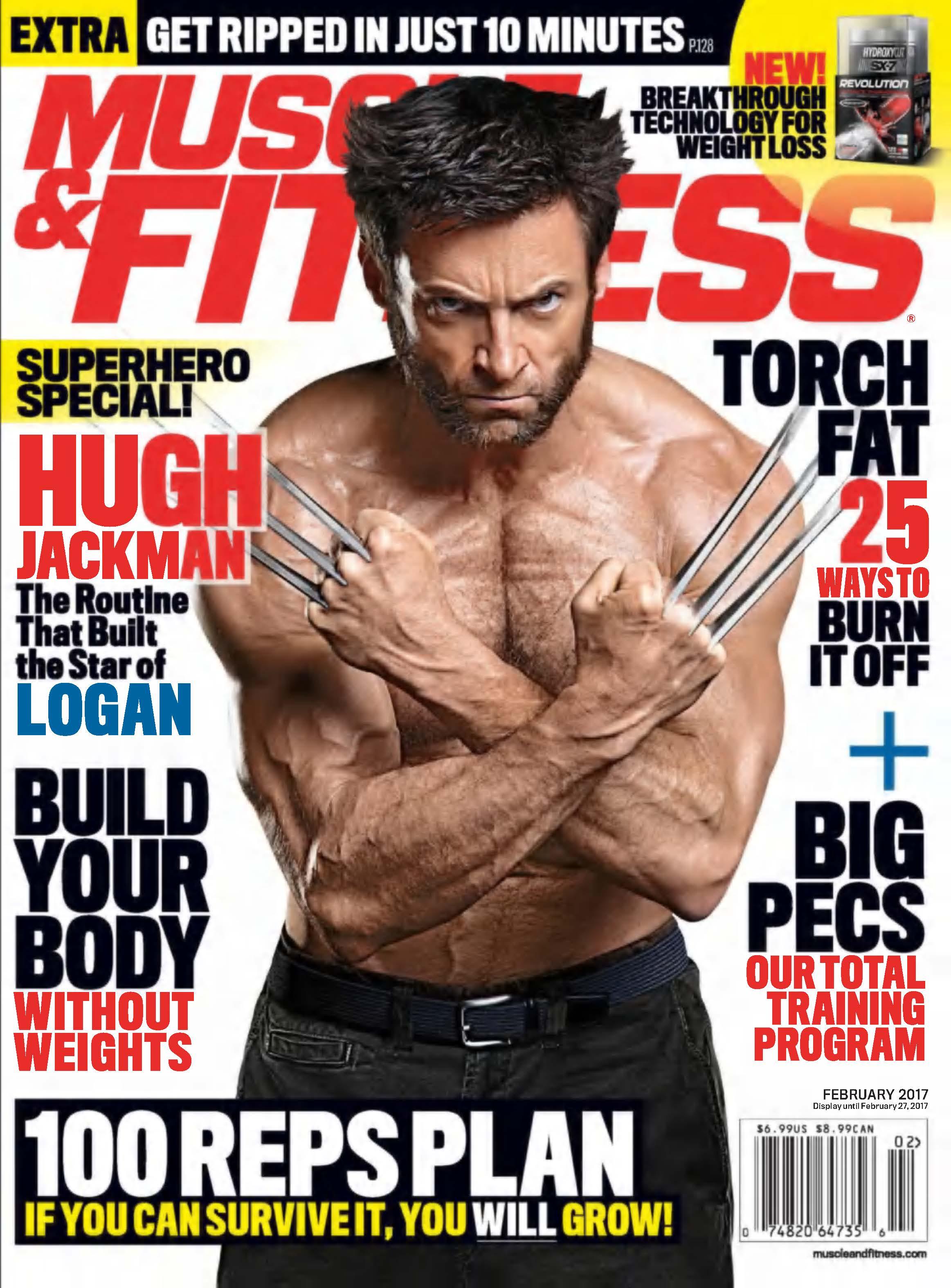Hugh Jackman Musculation le dernier wolverine pour hugh jackman ? : forum nutrimuscle