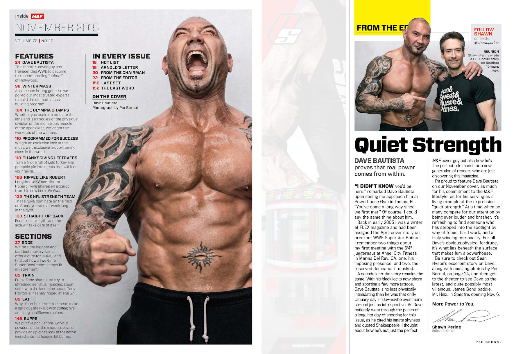 a78f9007709 NUTRIMUSCLE - Dave Bautista Muscle   Fitness Novembre 2015 ...